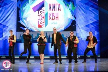 НА-ШИ ЧУ-ВА-ШИ!!.. в Полуфинале Первой лиги МС КВН!