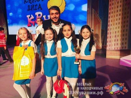 """""""Дети Индиго"""" в Финале Всероссийской Юниор-Лиги МС КВН!!"""